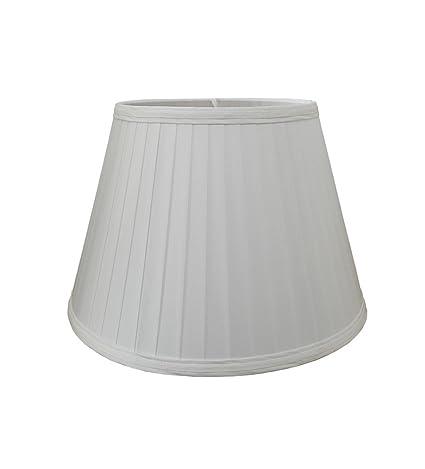 Alison 13 white pencil pleat lamp shade amazon lighting alison 13quot white pencil pleat lamp shade mozeypictures Choice Image