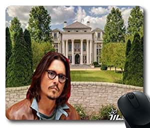 Johnny Depp Mouse Pad (180mm*220mm) TR3HG7086985