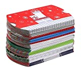 Christmas Gift Card Pillow Boxes (50-Count) by