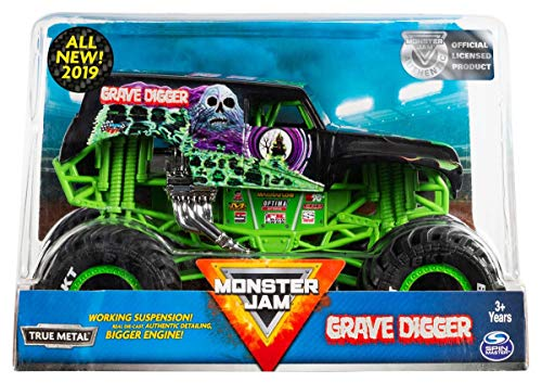 Hot Wheels Monster Jam 1:24 Scale Grave Digger BKT New 2019