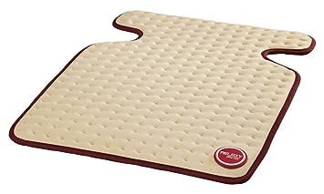 Imetec Relaxy IntelliSense CHP-02 - Almohadilla térmica, 15 W,máximo 110 W, cervical, espalda y hombros, color beige y burdeos: Amazon.es: Salud y cuidado ...