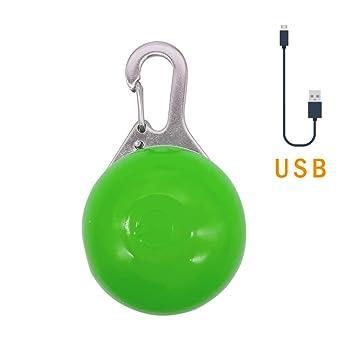 Amazon.com: Korty collar de perro con luz LED, collar de ...