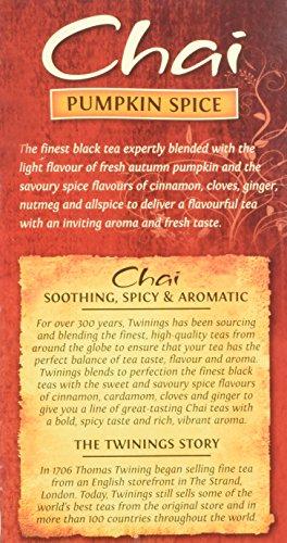 Twinings Pumpkin Spice Chai Tea, 40 Count by Twinings (Image #6)