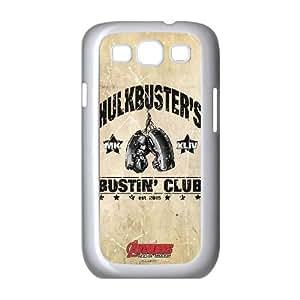 Samsung Galaxy S3 9300 Cell Phone Case White Hulkbuster Bustin Club M6H8OT