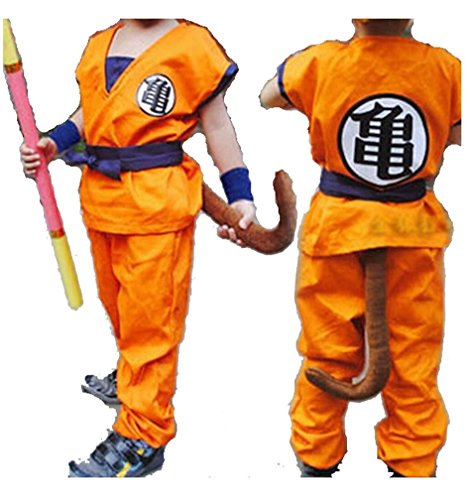 Anime Store Dragon Ball Z Son Goku Saiyan Cosplay Costume Kids Uniform