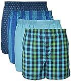 Gildan Mens Woven Boxer Underwear Multi-Pack