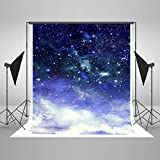 Kate 5x7ft Starry Sky Photography Backdrops for stars Studio Background for Baby Photo Booth without Wrinkles