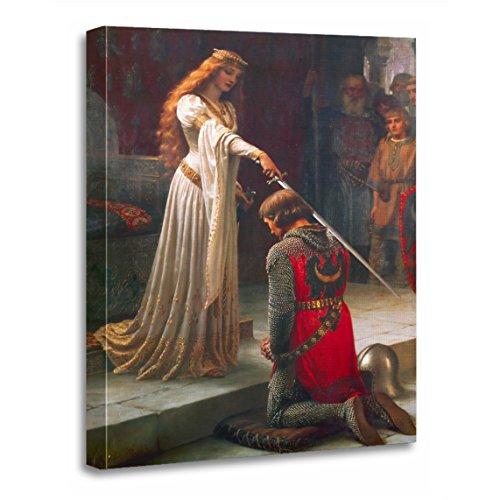 TORASS Canvas Wall Art Print Painting Accolade by Edmund Blair Portrait Artwork for Home Decor 16