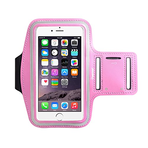 Insten Outdoor Sports Running Armband With Key Holder For Apple iPhone X/8 Plus/7 Plus/6S Plus/Samsung Galaxy S9/S9+/S8/S8+/Note 5(Up to 6.49