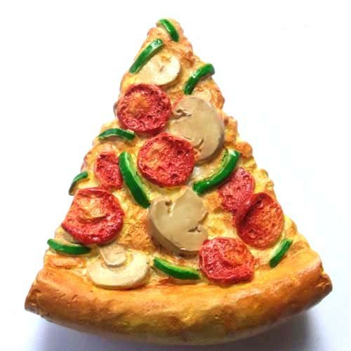 Fast Food Spicy Pizza High Quality Resin 3d Fridge Magnet (Pizza Fridge Magnet compare prices)