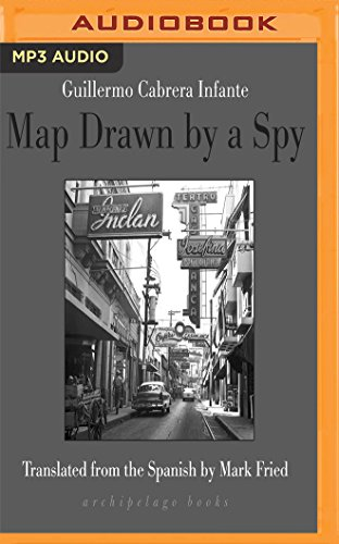 Map Drawn by a Spy by Audible Studios on Brilliance Audio