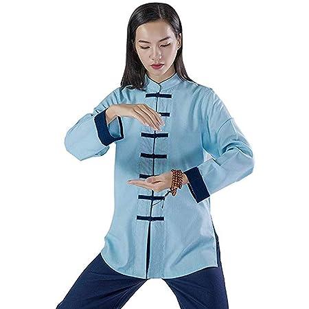 XGYUII Ropa de Tai Chi para Mujer Uniforme de Artes ...