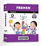 img - for French for Kids: 10 First Reader Books with Online Audio and 100 Vocabulary Words (Beginning to Learn French) Set 1 by Language Together book / textbook / text book