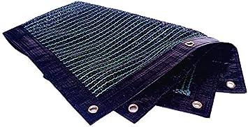 GUIYTQ5R Vela Parasol Paño de la Sombra de la protección Solar de la Vela de la Sombra de la Tela de la protección Solar con los Bordes Perforados, índice de sombreado del 70%