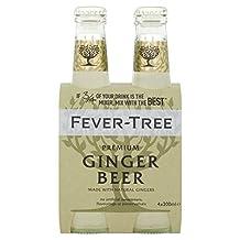 Fever-Tree Ginger Beer - 4 x 200ml (27.05fl oz)