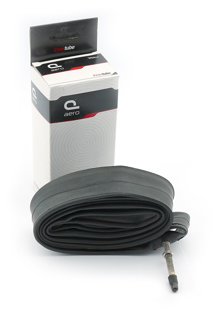 AERO - 3133 : Camara aire valvula presta fina AERO 400A (16 x1-3/8) V BIKE