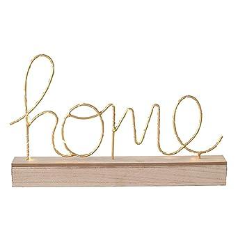 Singeru Kreative Led Englisch Brief Kinder Lampe Süße Love Home