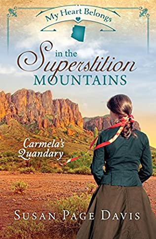 book cover of My Heart Belongs in the Superstition Mountains