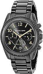 Michael Kors Women's MK6283 Blair Black Stainless Steel Watch