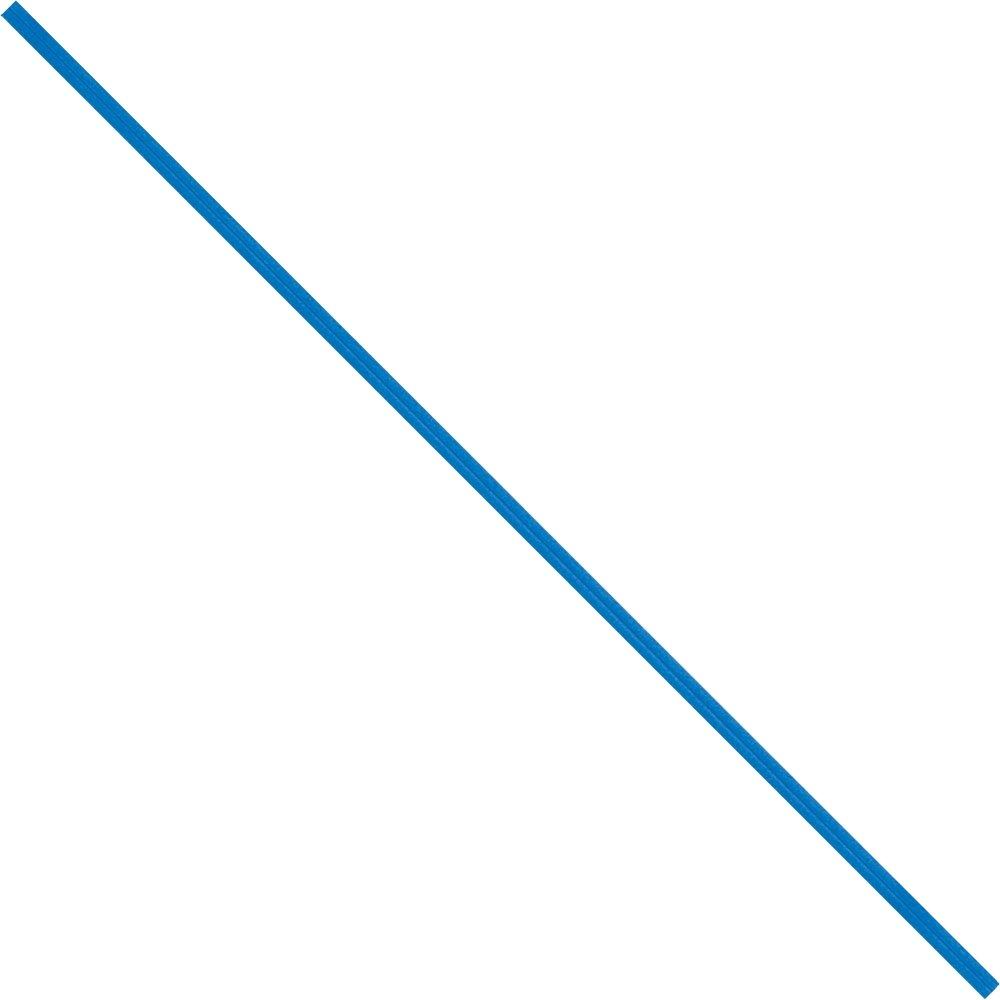 BOX USA BPBT6B Paper Twist Ties, 6'' x 5/32'', Blue (Pack of 2000)