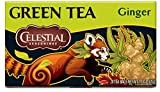 Celestial Seasonings Green Tea, Ginger, 20 Count Review and Comparison