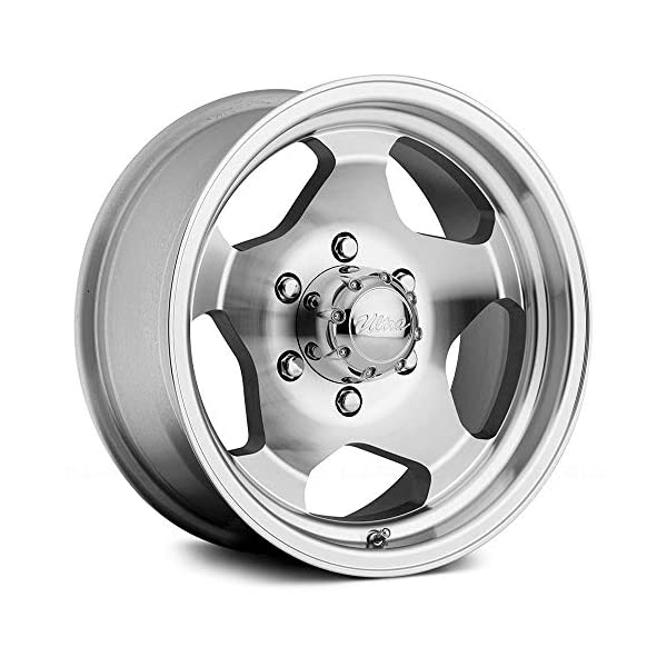 Ultra-51Type-50-ustom-Wheel-Silver-with-Machined-Face-and-Lip-16-x-8-25-Offset-6×1143-Bolt-Pattern-108mm-Hub