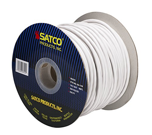 White – Commercial Electrical Wire – 18 AWG – SVT Rated – 250 ft.