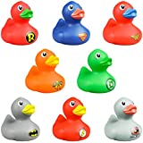 AAG One Dozen 2 Inches DC Comics Rubber Duckies