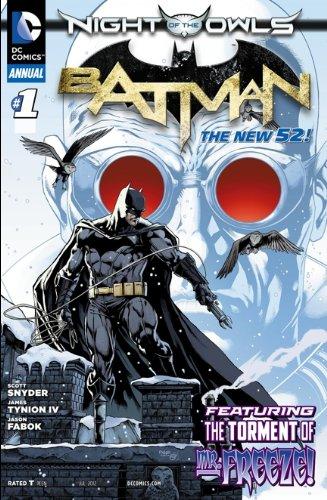 Batman Annual #1 (Night of the Owls) (Batman Annual 1 Night Of The Owls)