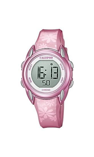 Calypso Reloj Digital para Mujer de Cuarzo con Correa en Plástico K5735/5: Amazon.es: Relojes