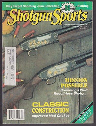 SHOTGUN SPORTS Remington Model 11 Nitro 100 1-oz Browning Recoilless + 9 1992