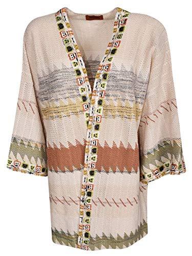 (Missoni Women's Mdm00118br000rsm05h Beige Cotton Cardigan)
