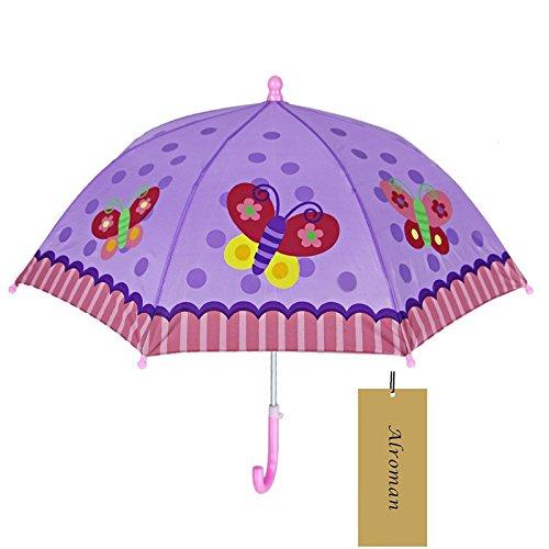Child Umbrella Girls Waterproof Umbrellas with Cartoon Pattern Children Sun Umbrellas UV Protection Beach Umbrella 2016 Photo Posing Props (27.2