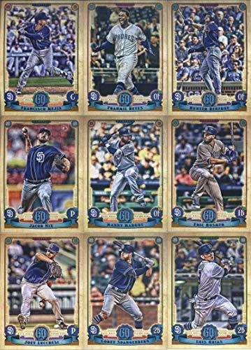 (2019 Gypsy Queen Baseball San Diego Padres Team Set of 10 Cards: Jacob Nix(#16), Hunter Renfroe(#28), Manny Margot(#116), Wil Myers(#126), Luis Urias(#158), Cory Spangenberg(#188), Joey Lucchesi(#198), Francisco Mejia(#243), Franmil Reyes(#289), Eric Hosmer(#293))