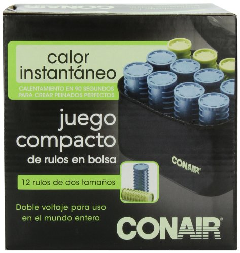 Conair Rollers Instant Heat Compact : Usa conair instant heat compact hot rollers w ceramic
