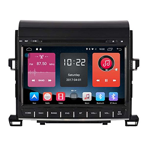 Autosion In Dash Android 6.0 Car DVD Player Sat Nav Radio Head Unit GPS Navigation Stereo for Toyota Alphard 2009 2010 2011 2012 2013 2014 4G LTE TPMS Support Bluetooth SD USB Radio OBD WIFI DVR 1080P by Autosion