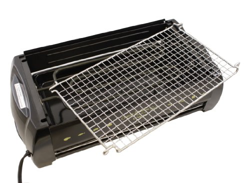 Livart Orange BBQ Deluxe Electric Barbecue Grill by Livart (Image #3)