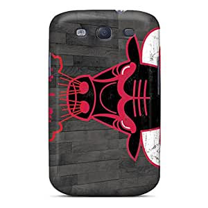 Cute Appearance Cover/tpu XBu1696VDRP Chicago Bulls Case For Galaxy S3