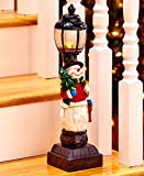 Lighted Holiday Lampposts-Snowman by GetSet2Save