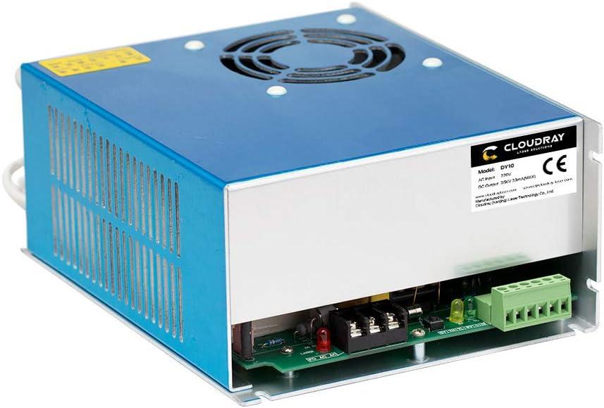 Z1 Cloudray 80W CO2 Laser Power Supply 220V Netzteil DY10 f/ür RECI W1 S1 Co2-Laser
