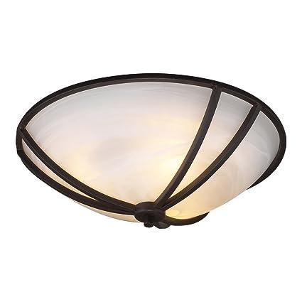 plc lighting 14863 orb 3 light ceiling light highland collection