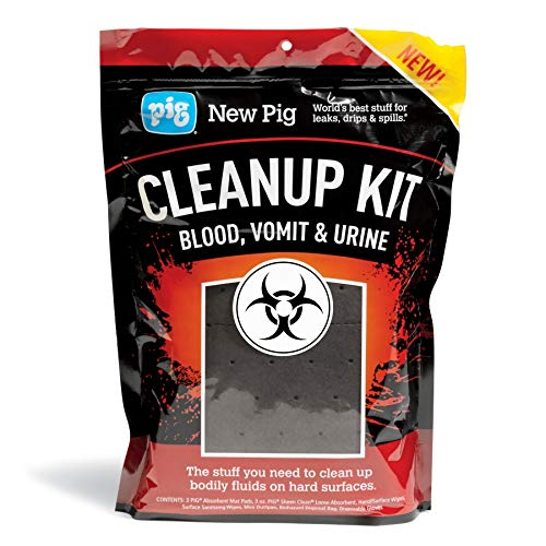 Blood, Vomit & Urine Cleanup Kits by New Pig - Pack of 10