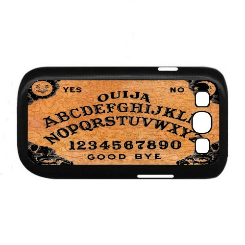 Ouija Board Samsung Galaxy S3 Rubber Cell Phone Case also available for S4/S5/ and Iphone (Black)