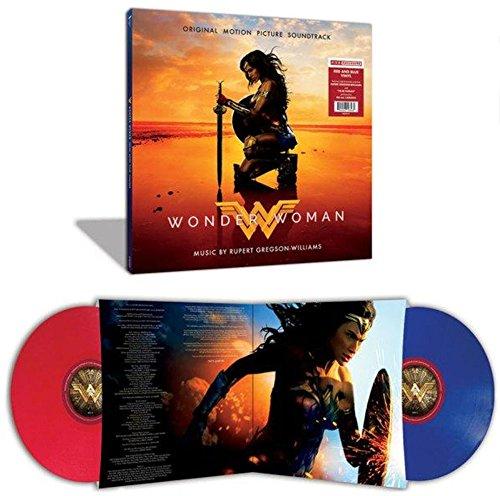Wonder Woman: Original Motion Picture Soundtrack Exclusive 2LP Red & Blue Vinyl (Wonder Vinyl Woman)