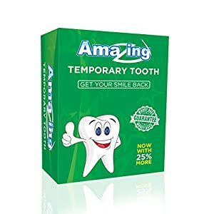 Amazing Temporary Missing Tooth Kit Replacement Temp Dental 25% More Than Others 1