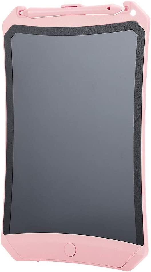 LCDペインティングライティングボードLCDライティングボード、ドローイングボード、キッズギフト/家族書道練習(Pink)