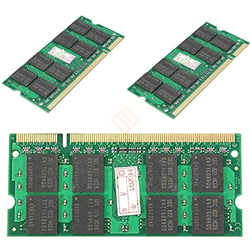 2GB DDR2 200PIN 667MHZ PC2-5300 SO-DIMM Laptop Notebook Memory Dual Channel Double-Side 16chips Top Quqlity
