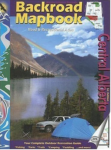Backroad Mapbook: Central Alberta (Backroads Mapbook Central Alberta compare prices)