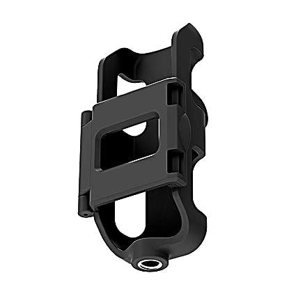 bouncevi Kameraabdeckung Mit 1/4-Bewegungskamera-Interface für OSMO Small Extender-Halterung Sportkamera-Zubehör (schwarz)