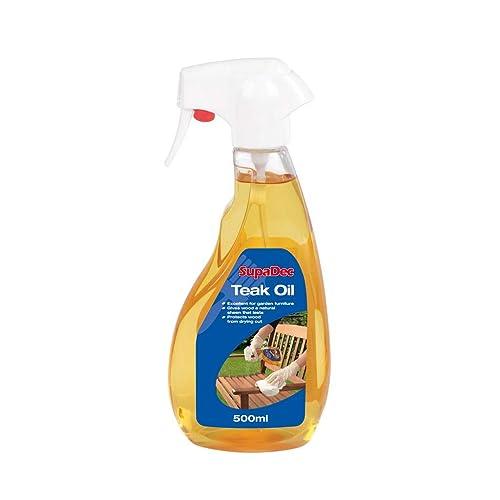 Teak Oil Trigger Bottle - Ideal for Garden Furniture - 500ml